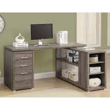 Modern Desk With Drawers Contemporary Modern Desks Hayneedle
