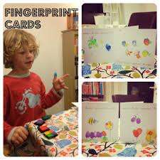 fingerprint thank you cards mum in the madhouse