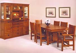 Dining Chairs Hutches Tables Portland Oak FurnitureOak - Oak dining room sets with hutch