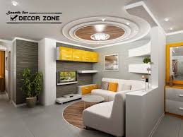 home interior ceiling design ceiling pop false ceiling design with wooden tray for living