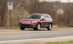 red subaru outback 2017 2017 subaru outback in depth model review car and driver
