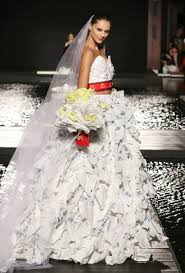 recycled wedding dresses the mcdcouture runway show just made fashion so much more
