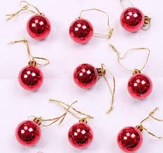 tree balls baubles with strings tree hanging