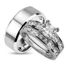 matching wedding bands for him and his and hers wedding ring set matching wedding bands for him and
