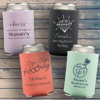 personalized wedding koozies custom wedding koozies my wedding reception ideas