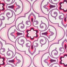 pale pink ornament fabric by michael miller from the usa