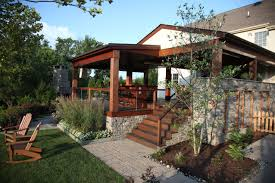ela outdoor living stone skirting was used so that this kitchen