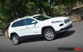white jeep 2016 2015 jeep cherokee limited diesel review video performancedrive