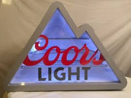 coors light mini fridge coors light mini fridge mountain shaped new excellent condition