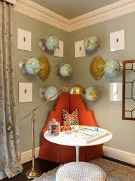 photos hgtv eclectic game room with globe wall art loversiq