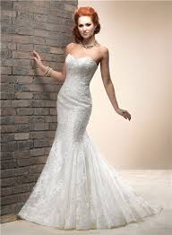 fitted wedding dresses fitted mermaid sweetheart lace wedding dress with corset back