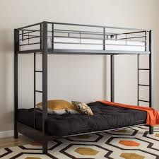 Black Metal Futon Bunk Bed Black Metal Futon Bunk Bed Bonners Furniture