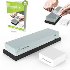 Sharpening Stones For Kitchen Knives Premium Whetstone Sharpening Stone 2 Side Grit 400 1000 Knife