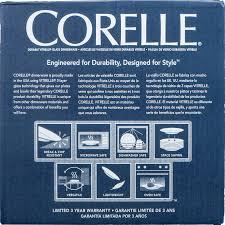 Corelle Dishes Ebay Corelle Livingware Durable Glass Dinnerware Winter Frost White