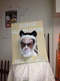 grumpy cat halloween costume grumpy cat is not impressed