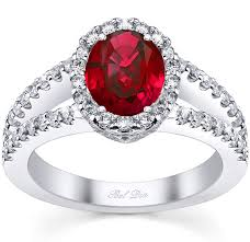 ruby and engagement rings ruby engagement rings