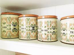 retro kitchen storage jars cowboysr us
