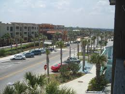 view from ocean blue motel on vilano beach now st augustine