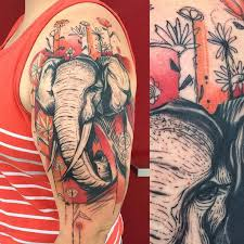 What Do Elephant Tattoos 93 Best Elephant Tattoos Images On Awesome Tattoos