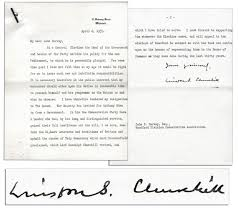 Executive Letter Of Resignation Winston Churchill Resignation Letter Business Insider