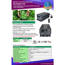 china 315w cmh digital ballast 315w ceramic metal halide grow