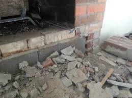 Remove Brick Fireplace by Reface Brick Fireplace To Stone Doityourself Com Community Forums