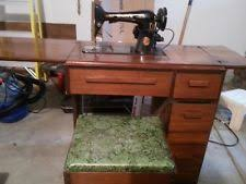 Antique Singer Sewing Machine And Cabinet Singer Sewing Machine 1802 Model With Pedal Ebay
