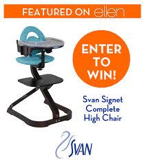 Svan Chair Win Svan U0027s Signet Complete Chair Featured On Ellen Baby Dickey