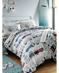 Betty Boop Duvet Set Volkswagen Surf U0027s Up Double Duvet Cover And Pillowcase Set Bedroom