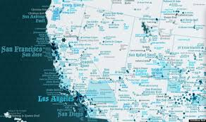 map usa place heaven usa map is a tour of america s angelic places