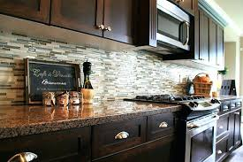 backsplash kitchen ideas cheap budget tile with white cabinets