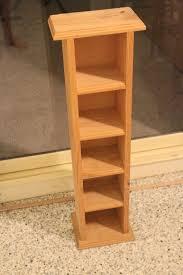 Oak Cd Storage Cabinet Cd Storage Racks Wood Cosmecol