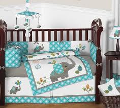 Bedding Set Crib Sweet Jojo Designs Mod Elephant 9 Crib Bedding Set Reviews