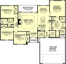 House With 2 Master Bedrooms Clear Creek House Plan U2013 House Plan Zone