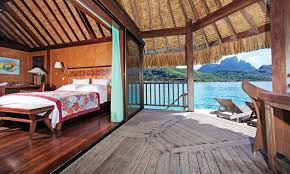 Tiki Hut On Water Vacation Sofitel Bora Bora Private Island Resort French Polynesia Tahiti Com