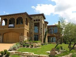 custom home tuscan design near lake travis designed by john allen
