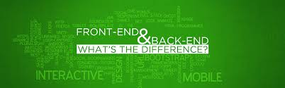 what u0027s the difference between the front end and back end
