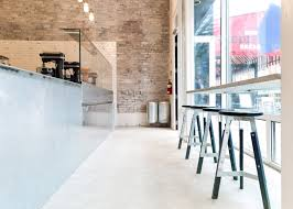 interior design architects scott scott architects creates stripped back ice cream shop