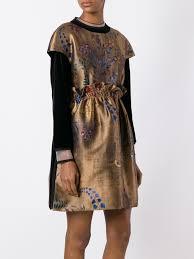 fendi monster sneakers fendi botanic garden jacquard dress women