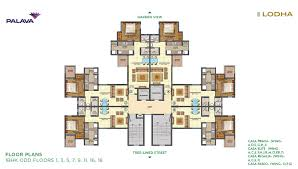 floor plan lakeshore greens layout and floor plan lodha palava
