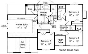 House Plans With Elevations And Floor Plans Nashville House Floor Plan Frank Betz Associates