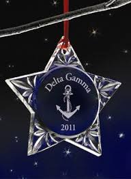 delta gamma ornament anchor almost demure dg