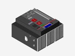 abb sace emax 2 solidworks 3d cad model grabcad