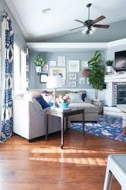 Blue And Grey Living Room Ideas by Quick Living Room Update Color Switch For Less Than 600 All