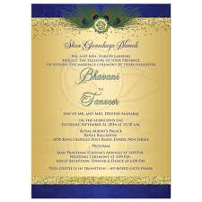 Peacock Wedding Programs Peacock Invitation Cards Peacock Wedding Invitations Canada