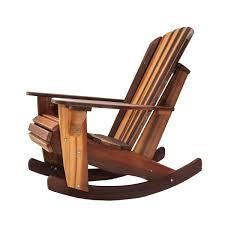 simple adirondack rocking chairs