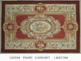 tappeto aubusson verde rotondo tappeto tessuto a mano tappeto di tappeti