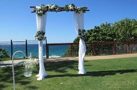 wedding arches gold coast gold coast wedding venues styling hire decorator packages
