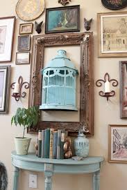 Birdcage Home Decor Create An Eclectic Gallery Wall Display Via Southern Hospitality