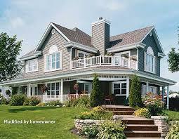 plan 21558dr wonderful wrap around porch porches wrap around